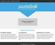 Pastelink. Le partage de fichiers ultra simple.