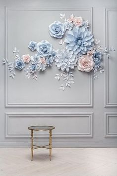 Wedding Paper Flower Backdrop - Alternative Paper Flower Arch - Wedding Reception Decor - - If you are looking for Alternative Wedding Paper Flower Backdrop Inso, perhaps this elegant paper Flower set might be on Large Paper Flowers, Paper Flowers Wedding, Paper Flower Wall, Wedding Paper, Diy Flowers, Flower Decorations, Wedding Decorations, Decor Wedding, Wedding Art