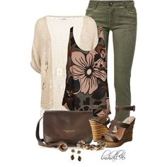 """""""Summer to Fall Set"""" by lmhall96 on Polyvore"""