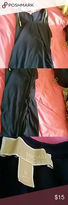 Nice tank type of shirt Has 2 zippers at the top Michael Kors Tops Tank Tops
