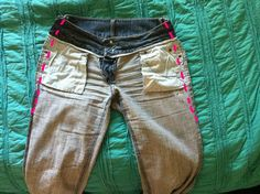 diy: how to take in jeans at the waist – rabit stew Altering Jeans, Altering Clothes, Refashioning Clothes, Xavier Rudd, Mori Girl, Diy Distressed Jeans, Couture, Sewing Alterations, Stylish Jeans