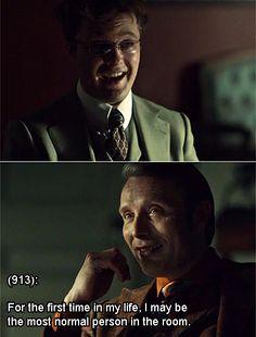 Texts from Hannibal's office, i was so sad they recasted mason in season 3