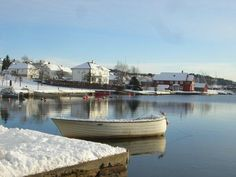 Winter in Lillesand, Norway