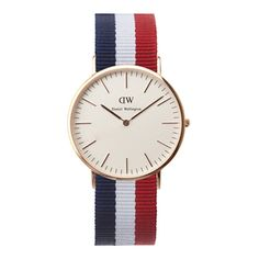 A wrist need. Daniel Wellington. Classic Cambridge.