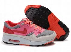 detailed look 82dfb 4bdcb Cheap Nike Free US Size for Sale Mens Nike Air Max 1 Graphite Light Grey  Pink Infrared Shoes  nike free for sale -