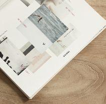 Libro Scher - Paula Garcés  Recopilación de proyectos realizados en el Posgrado de Diseño y dirección de arte//A book which shows a compilation of all the projects made in the Design and Art direction course in Barcelona in 2013.