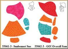 Overall Sam/Sunbonnet Sue
