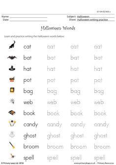 Free Printable Holiday Worksheets | 143 FREE Printable Halloween Worksheets