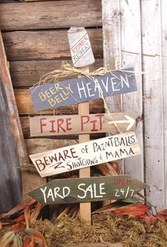 Redneck Yard state -- need this for the yard. neighbors would hate it! Hillbilly Party, Redneck Party, Funny Redneck, Redneck Decorations, Redneck Christmas, Christmas Crafts, Redneck Crafts, White Trash Party, Rustic Crafts