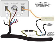 getwiringdiagram 2004 Zx6r Wiring Diagram Schematic Pinterest
