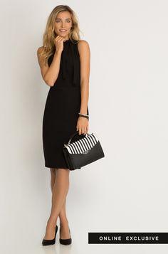Pouzdrové šaty s mini roláčkem