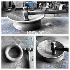 Forging Tools, Forging Knives, Metal Projects, Metal Crafts, La Forge, Ferraria, Metal Shaping, Diy Workbench, Copper Art