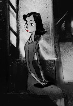Enjoy a gallery of 70 Original Concept Art, Character Design & Background Design for Disney Short Paperman. Pixar Concept Art, Disney Concept Art, Character Design Animation, Character Design References, 3d Character, Art Disney, Disney Pixar, Walt Disney Animation Studios, 3d Animation