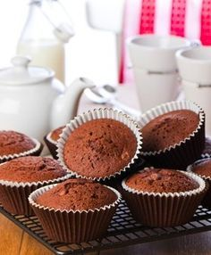 6 rad, jak upéct dokonalé muffiny Cap Cake, Cheesecake Brownies, Carrot Cake, Cake Pops, Sweet Recipes, Cooker, Muffins, Food And Drink, Gluten