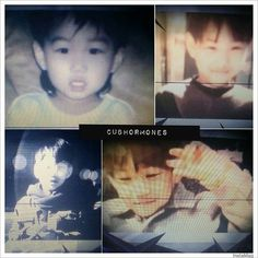 kai's predebut pics shown during their concert ~
