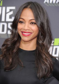zoe saldana hair 2013 - Google Search