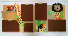 Zoo  Vacation  Child  Family  premade scrapbook by ohioscrapper, $24.00