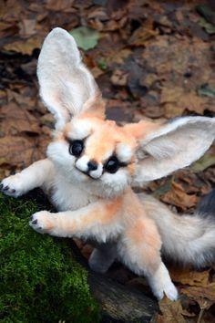 Fennec Fox von GakmanCreatures auf Etsy
