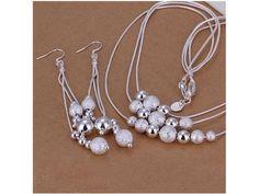925sterling silver design Necklace & Earrings set