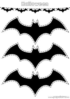 halloween výrobky - Batman Printables - Ideas of Batman Printables - Resultado de imagen de halloween výrobky Diy Halloween, Moldes Halloween, Halloween Templates, Manualidades Halloween, Easy Halloween Decorations, Halloween Birthday, Holidays Halloween, Halloween Applique, Batman Party