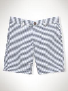 Seersucker Preppy Short - Boys 2-7 Shorts - RalphLauren.com