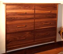 Walnut Post Modern TV Cabinet With Faux front Drawer Panels Front Porch Stairs, Porch Columns, Porch Steps, Front Steps, Craftsman Style Porch, Craftsman Interior, Porch Railing Designs, Front Porch Design, Oak Bookshelves