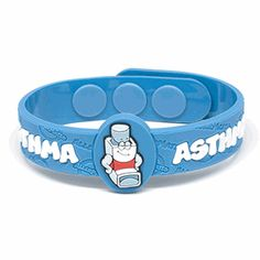 Asthma Wristband, this website has some amazing products for kids with allergies!