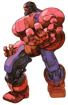 Sentinel from Marvel vs. Capcom 2: New Age of Heroes