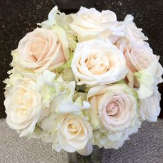 Blush and ivory bouquet - for Michelle!!!