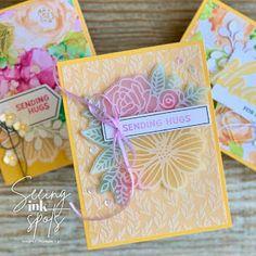 Sending Hugs Images, Handmade Greetings, Greeting Cards Handmade, The 5th Of November, June, Stampin Up Paper Pumpkin, Pumpkin Cards, Stamping Up Cards, Card Making Inspiration