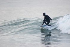Bodyboarder, glassy conditions in denmark / ground swell / surfing #coldwatersurf