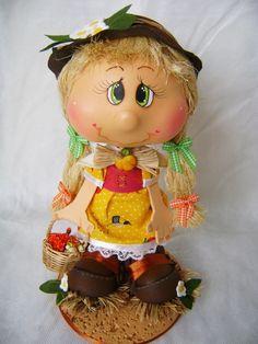Boneca Krikucha Espantalha