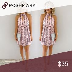 Shop Hope's Wedding date dress in multi Cute layered dress perfect for date night or weddings! New with tags, never worn Shop Hope's Dresses Mini