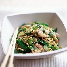 Sesame Prawn and Noodle Salad Recipe-prawn recipes-recipe ideas-new recipes-woman and home