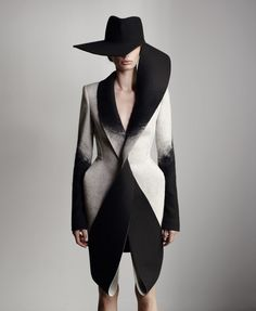 Dion Lee's Woolmark collection 2013