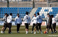 real madrid training before leaving for russia