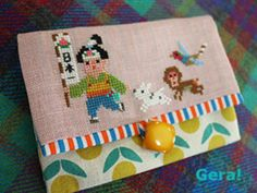 Japanese Characters, Le Point, Hama Beads, Cross Stitch Embroidery, Alice, Cool Stuff, Knitting, Sewing, Crochet