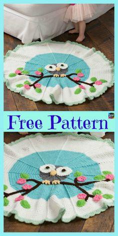 10 Most Adorable Crochet Kids Blanket – Free Patterns #freecrochetpatterns #blanket#giftidea
