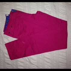 BDG Pink Skinny Pants Excellent condition. Slightly stretchy. Size 31 purchased from Urban Outfitters. BDG Pants Skinny