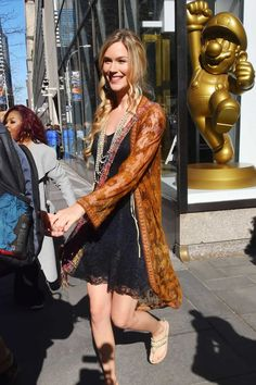 Joss Stone Arriving At Today Show In New York