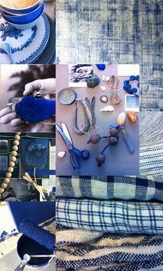 True blue.Elle deco.Norway