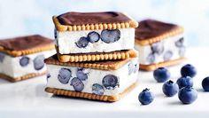 Blaubeer-Eis-Sandwich - © www.lidl-rezeptideen.de