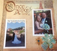 Scrapping a 2 Lane Adventure : The wedding