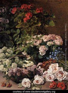 Spring Flowers - Claude Oscar Monet - www.claudemonetgallery.org