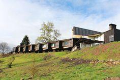 García de la Huerta & Gleixner Arquitectos · Panguipulli Hotel. Lake Panguipulli, Chile · Divisare