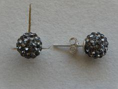 $29 Italian Swarovski Crystal Earrings In 925 Sterling Silver, info@bijuterie-online.ro