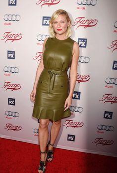Kirsten Dunst Fargo Red Carpet Pictures October 2015 | POPSUGAR Celebrity