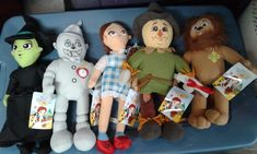 The Wizard of Oz Plush Toy Factory Tinman Cowardly Lion Scarecrow Witch Dorothy