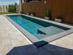 Take a look at our site for a good deal more on the subject of this great gunite pool Backyard Pool Designs, Small Backyard Pools, Small Pools, Swimming Pools Backyard, Swimming Pool Designs, Outdoor Pool, Outdoor Spaces, Pool House Decor, Kleiner Pool Design