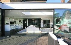 #Interior, #Extension, #Garden Inside Outside, Open Up, Inspire, Mansions, House Styles, Garden, Outdoor Decor, Inspiration, Home Decor